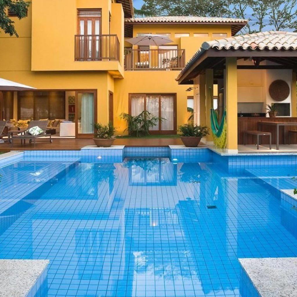 Construcao de piscinas - Brasil Piscinas