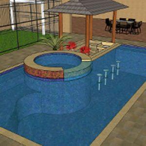 Reforma da piscina