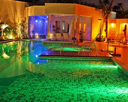 Iluminação LED Pool para piscinas