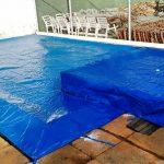 Instalação de capa de proteção - Brasil Piscinas
