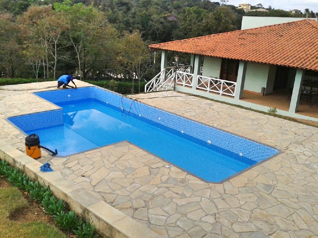 Piscina de vinil em belo horizonte brasil piscinas - Como construir piscina ...