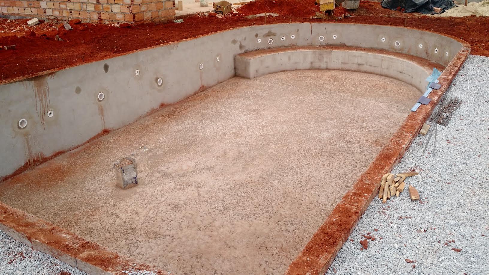 Piscina de vinil passo a passo: Parte hidráulica da piscina