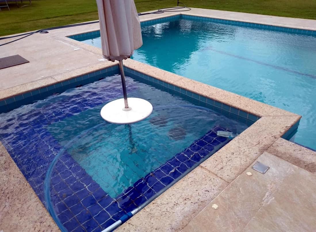 Opcionais para piscinas