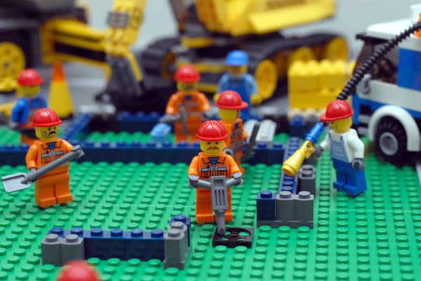 Construir uma casa de lego