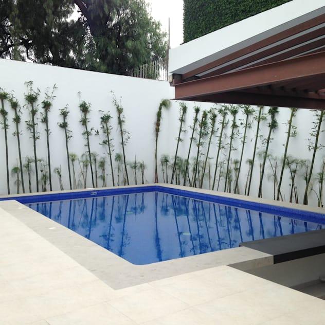 Foto da piscina pequena