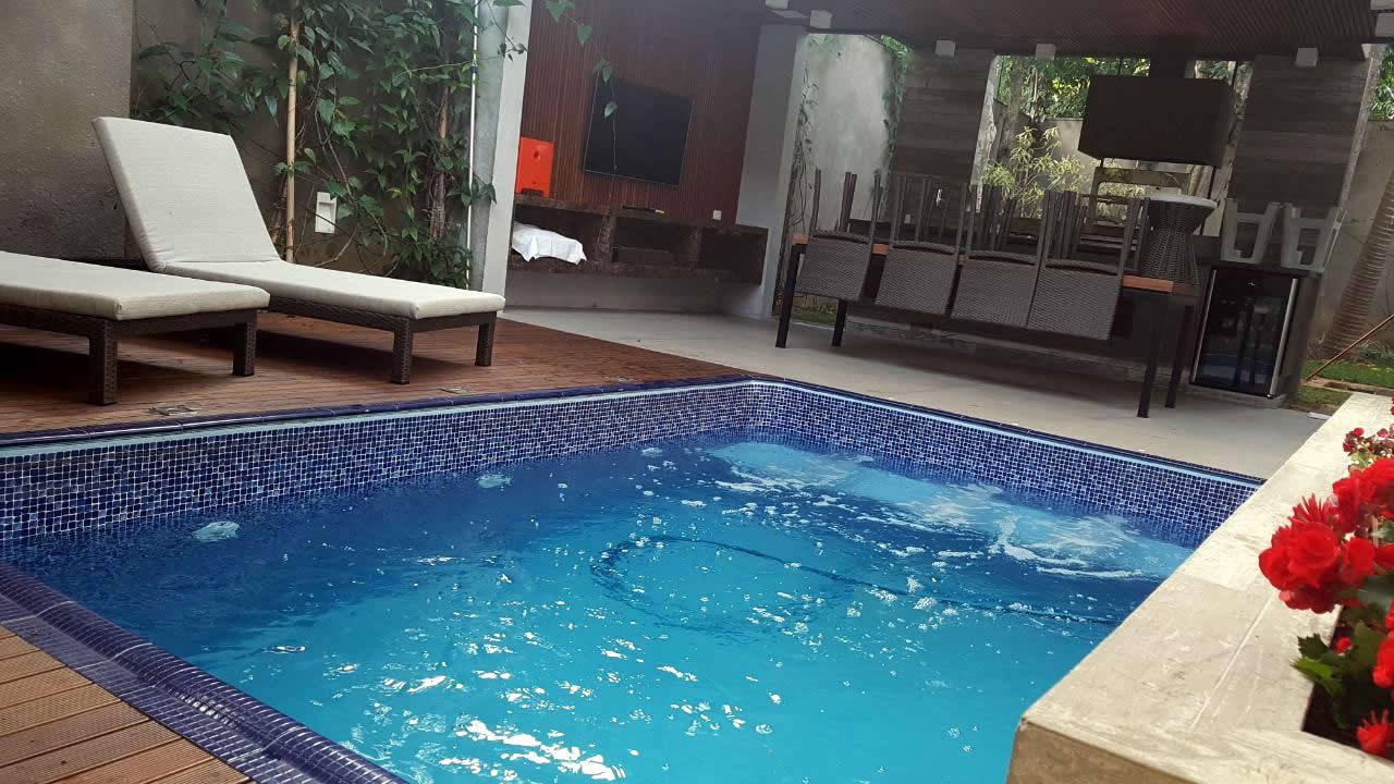 Construção da piscina de vinil do Lucas Pratto – São Paulo