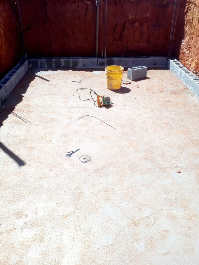 Construção da piscina da Denise - Lagoa Santa