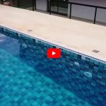 Mais uma piscina construída no Condomínio Gran Royalle, em Lagoa Santa