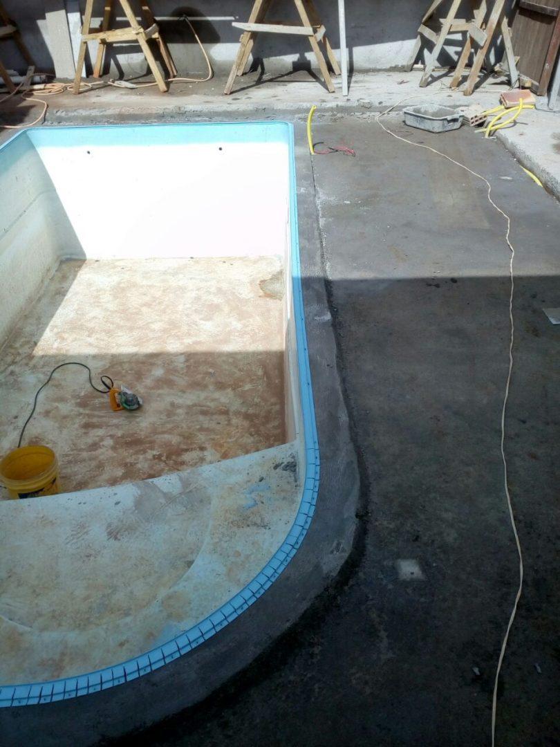Reforma da piscina da Elane - Lagoa Santa