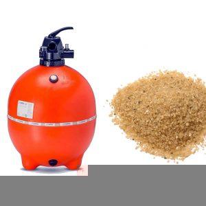 Trocar areia do filtro