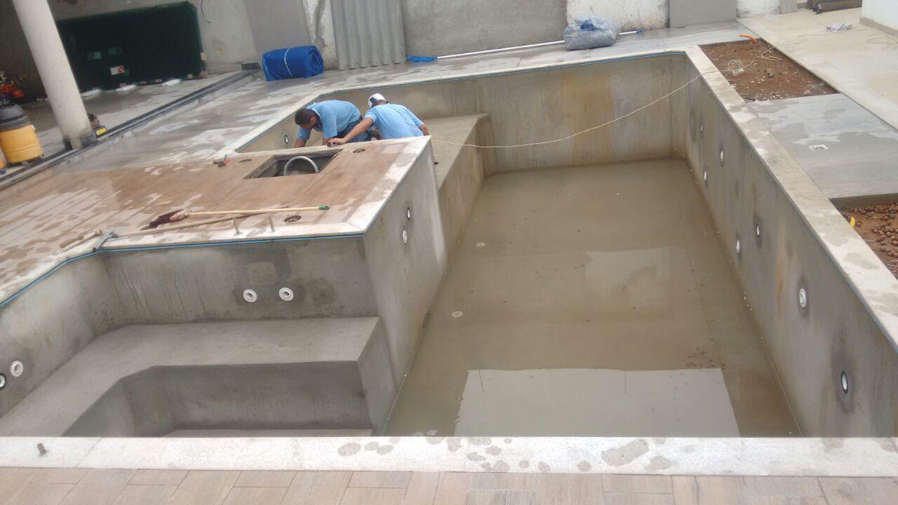 Piscina Paulo - Construção de piscina de Vinil