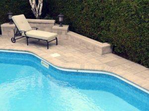 A piscina e os limites da propriedade