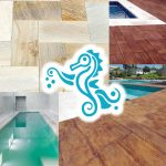 Possibilidades para o piso da piscina
