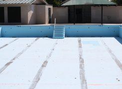 Depois da construção, por que não se pode esvaziar a piscina?