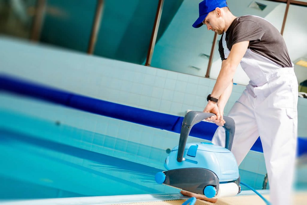 Se renda à automatização da piscina
