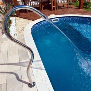 Cascata de piscinas