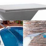 Cascatas para piscinas – As três mais em conta para a sua piscina