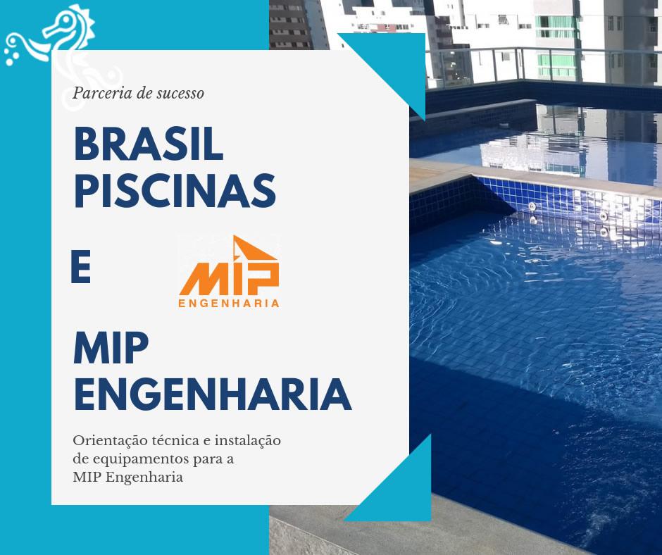 Instalação de equipamentos e casa de máquinas para MIP Engenharia