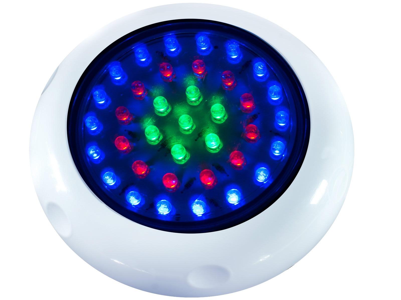 Iluminação LED para piscina