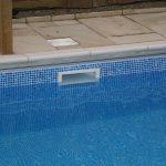 Por que a piscina de vinil não pode transbordar?