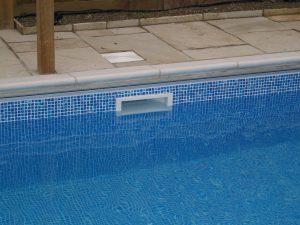 Skimmer da piscina