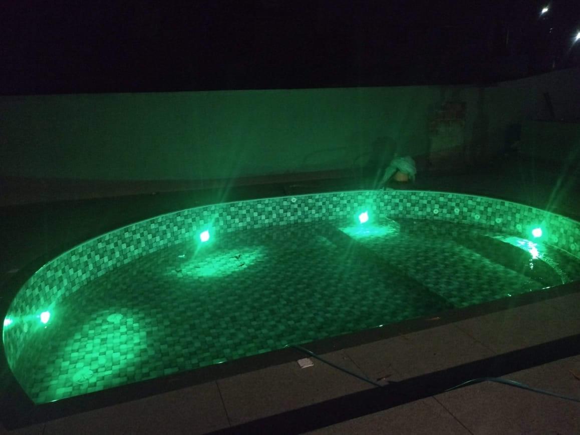 Construção da piscina do Ary – Condomínio Alphaville