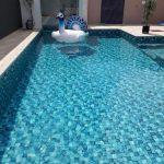 Construção da piscina de vinil do Jorge – Martinho Campos