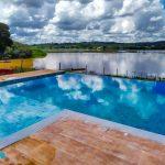 Construção da piscina de alvenaria do André – Macaia