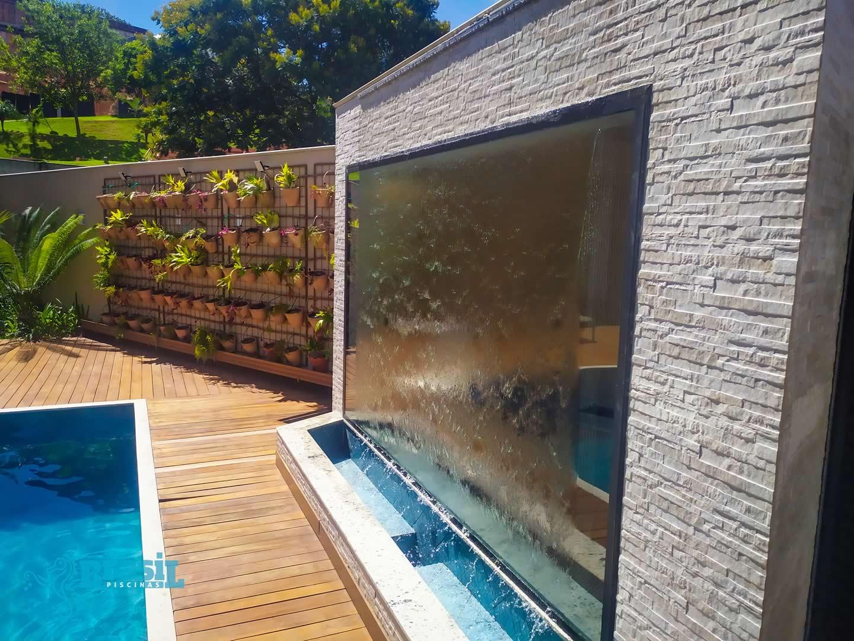 Construção da piscina de alvenaria do Diego - Portal do Sol