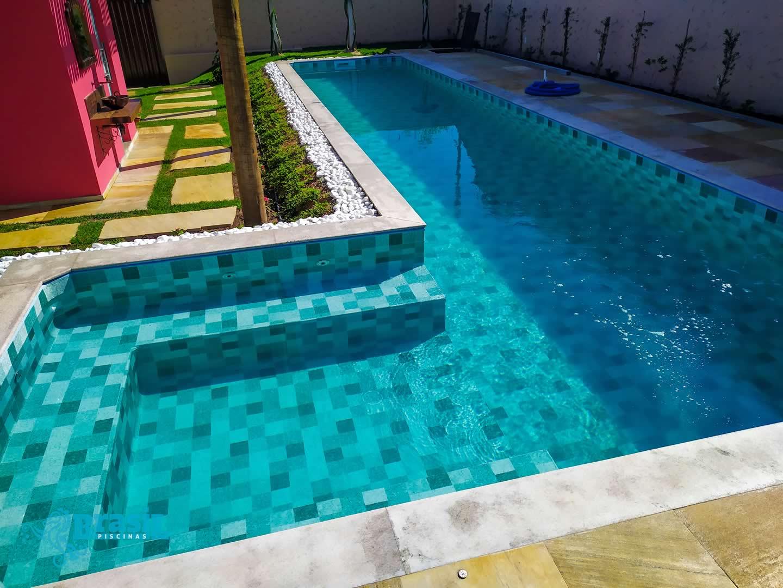 Orientação técnica e instalação dos equipamentos na piscina de vinil do Eustáquio – Betim
