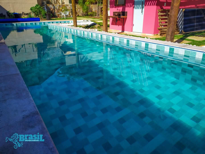 Construção da piscina de vinil do Eustáquio - Betim