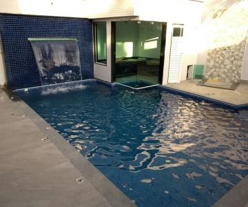 Construção de piscina e sauna do Leonardo – Santa Amélia