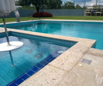 Construção da piscina do Lincon – Condomínio Villa Bella